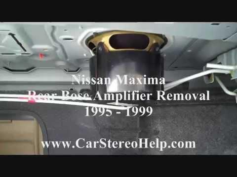 1999 4th gen maxima radio removal and ashtray light doovi. Black Bedroom Furniture Sets. Home Design Ideas