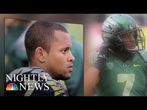 Football Coach Hailed A Hero For Tackling Suspect Who Brought Gun To School  NBC Nightly News