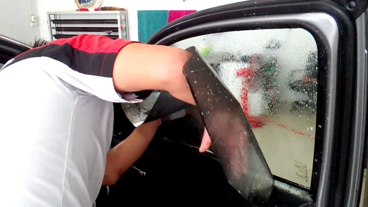 ติดฟิล์มรถยนต์ - YouTube