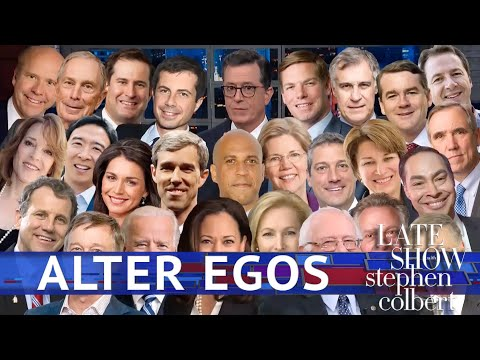 Late Show&39;s Alter Egos: The Democratic Candidates
