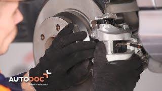 Kā nomainīt MERCEDES BENZ E W211 aizmugurējie bremžu suportu PAMĀCĪBA AUTODOC