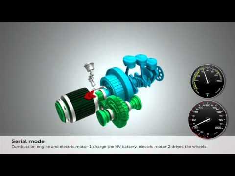 Audi A1 e-tron Animation