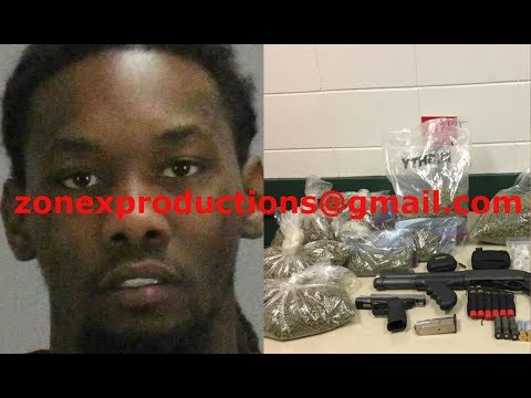 Offset From Migos ARRESTED for gun charge and trafficking weed DENIED bond!