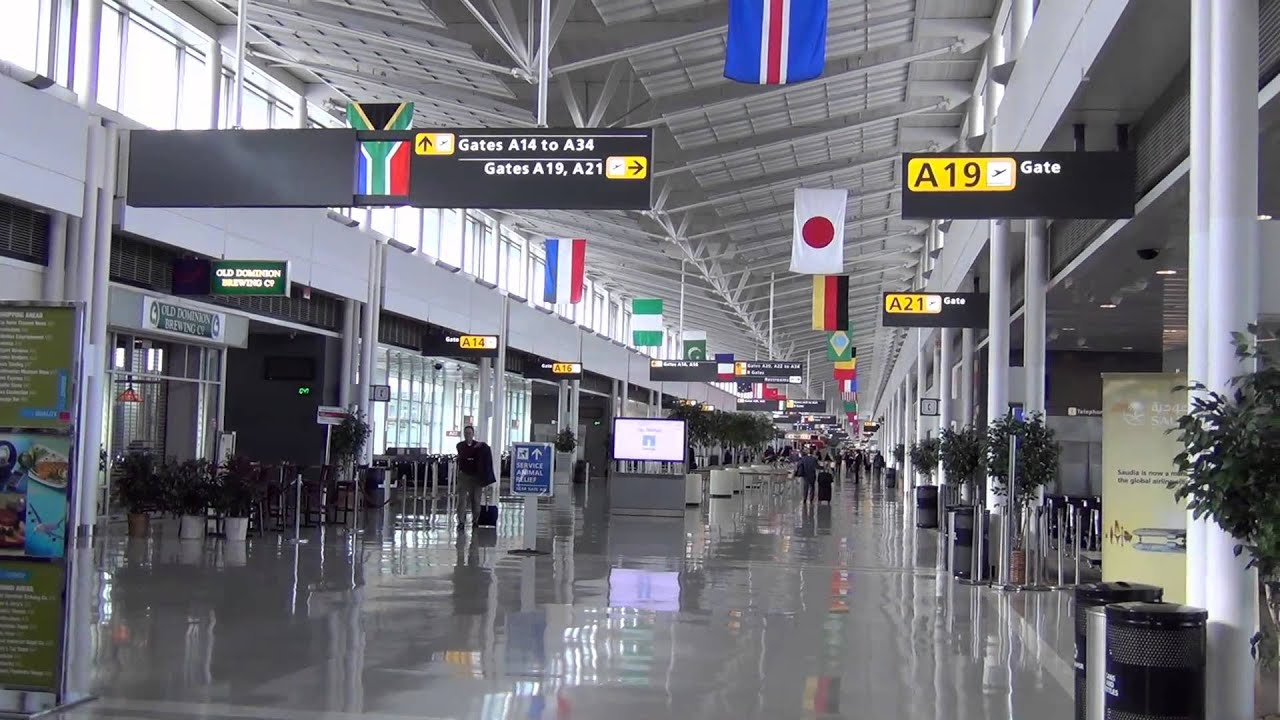 A Tour Of Dulles International Airports Main A And B