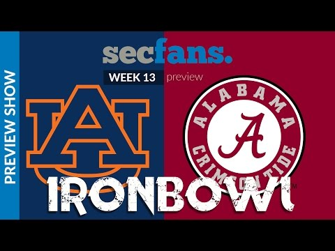 Iron Bowl Preview Special - Alabama vs Auburn - 2016 College Football