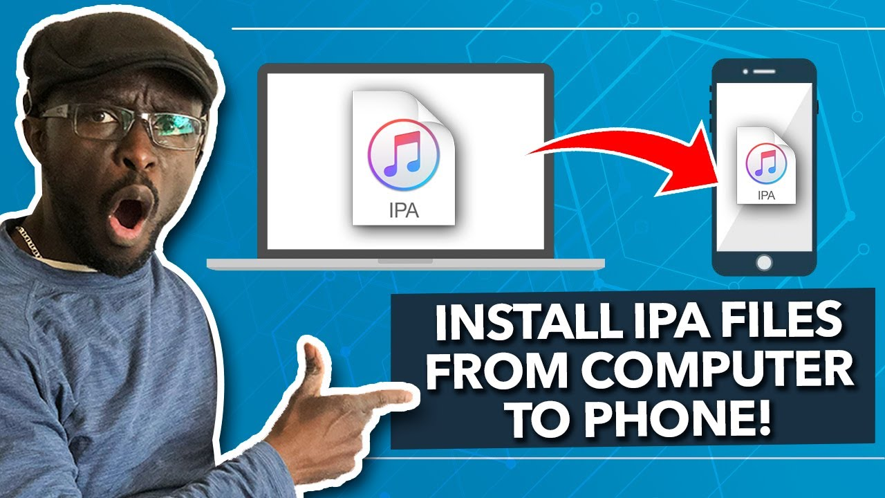 How to install ipa files from computer to iphone