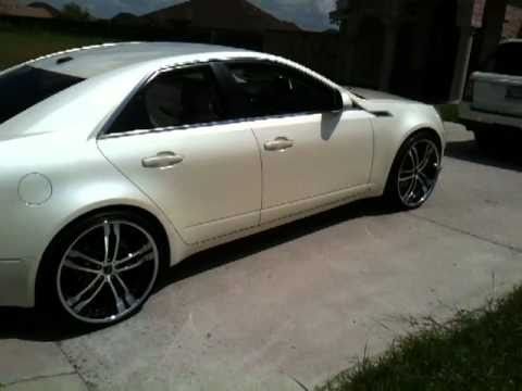 2013 Cadillac Cts Coupe >> Cadillac cts on 22s pt 2 - YouTube