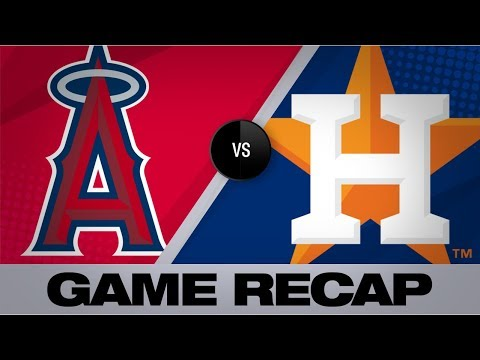 Astros clinch AL West with 13-5 win | Angels-Astros Game Highlights 9/22/19