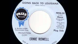 "Ernie Rowell ""Going Back To Louisiana"""