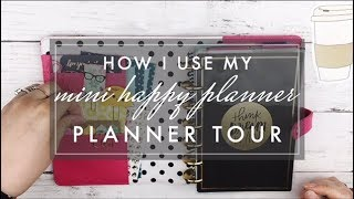 Mini Happy Planner Walk Through & Set Up // How I use my Mini Happy Planner