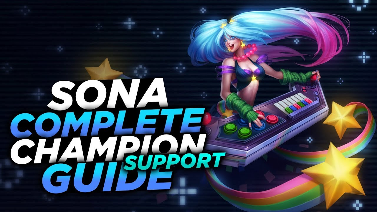 Sonorific, best sona support build lol how to build guide # 3 s7.
