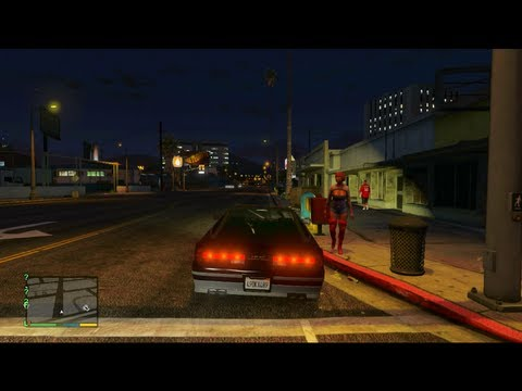 GTA 5 - Fucking a Prostitute for FREE!