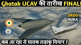 Ghatak UCAV Deadly Aircraft First flight | Indian Defence Updates | Defence Show