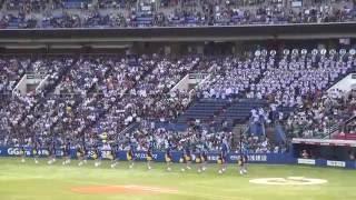 【侍ジャパン】習志野吹奏楽のメドレーに観客大盛り上がり thumbnail