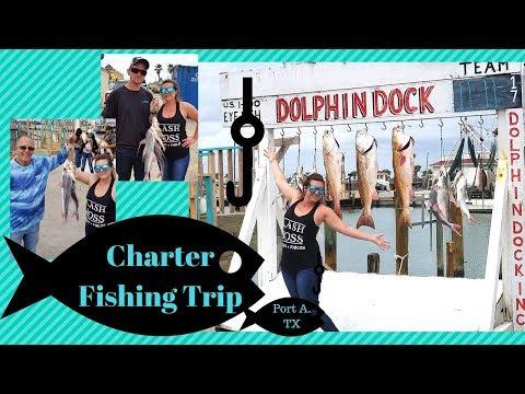 Port Aransas Charter Fishing Trip | Dolphin Dock Inc Charter Fishing