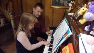Индивидуальные занятия игры на фортепиано (преподаватель - Евгений Сопин)