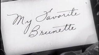 My Favorite Brunette (1947) [Comedy] [Romance] [Mystery]