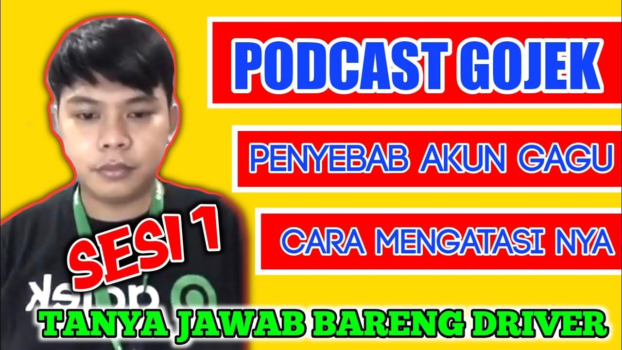 Podcast| obrolan terapi akun gojek gagu |Sesi 1