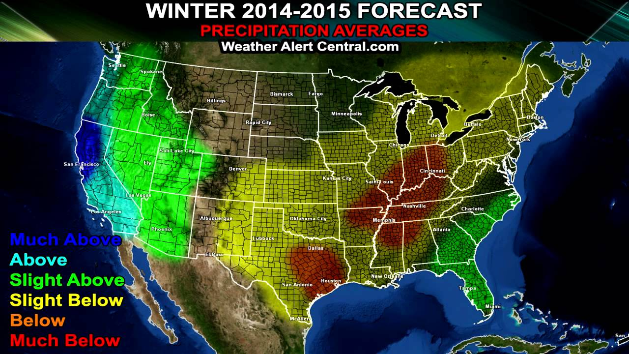 Winter forecast 2014 2015 usa youtube sciox Gallery