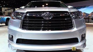 2016 Toyota Highlander TRD SEMA Edition - Exterior and Interior Walkaround - 2016 Chicago Auto Show