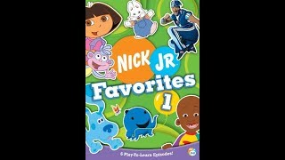 Opening To Nick Jr. Favorites:Volume 1 2005 DVD