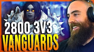 Insane 2800+ Warr/Ret/HPal 3v3 Session to Gladiator (ft. Vanguards & Ronpaul) - WoW Shadowlands 9.0