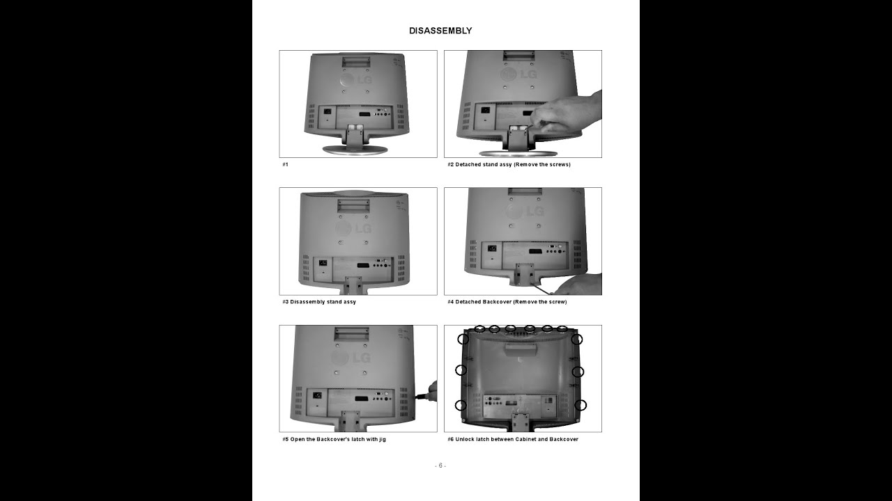 Lcd Tv Schematics Image