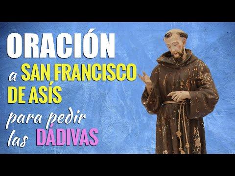 🙏 Oración para PEDIR LAS DÁDIVAS de San Francisco de Asís 🙇♂️