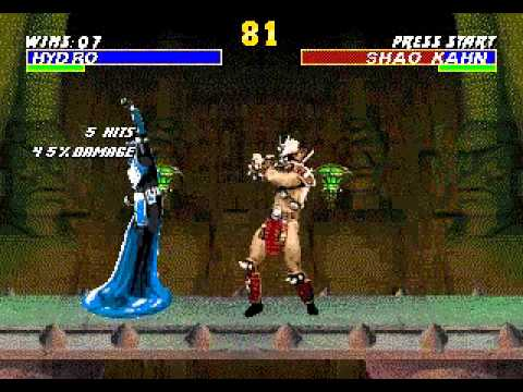 TAS/TAP GEN Mortal Kombat Revelations(Hack) - Hydro Playthrough by Ksylatron