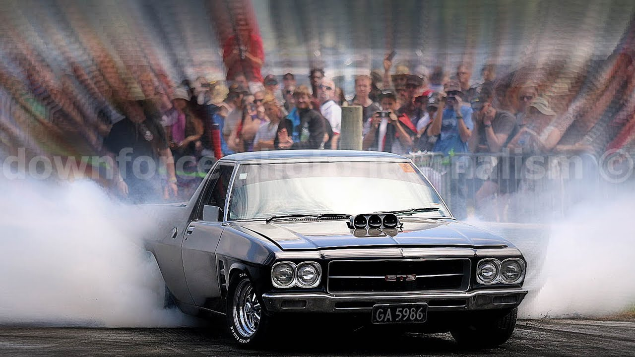 Muscle Car Madness Burnouts Rangiora New Zealand 2018 Slideshow