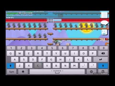 Growtopia Guide On Mass Producing Portcullis Youtube