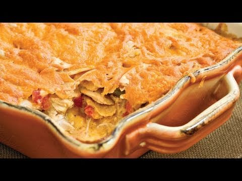 Quick Fix Light King Ranch Chicken Casserole | Southern Living