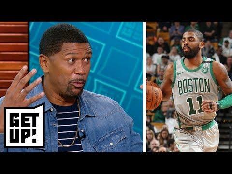 Jalen says Kyrie Irving should be higher in ESPN's NBArank  | Get Up! | ESPN
