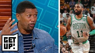 Jalen says Kyrie Irving should be higher in ESPN's NBArank  | Get Up! | ESPN