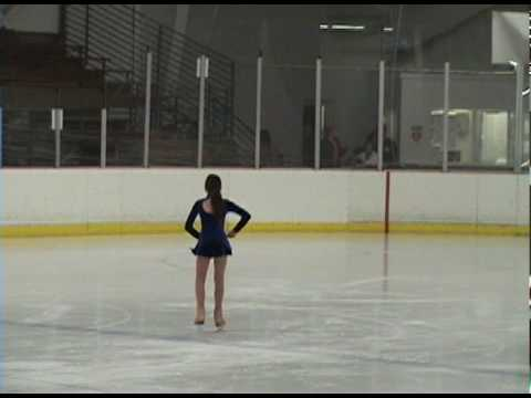 Sydney Skating to TV Theme Music at first competition!