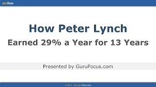 Picking Stocks Like Peter Lynch
