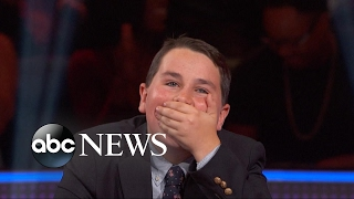 13-year-old goes on a game show and wins big
