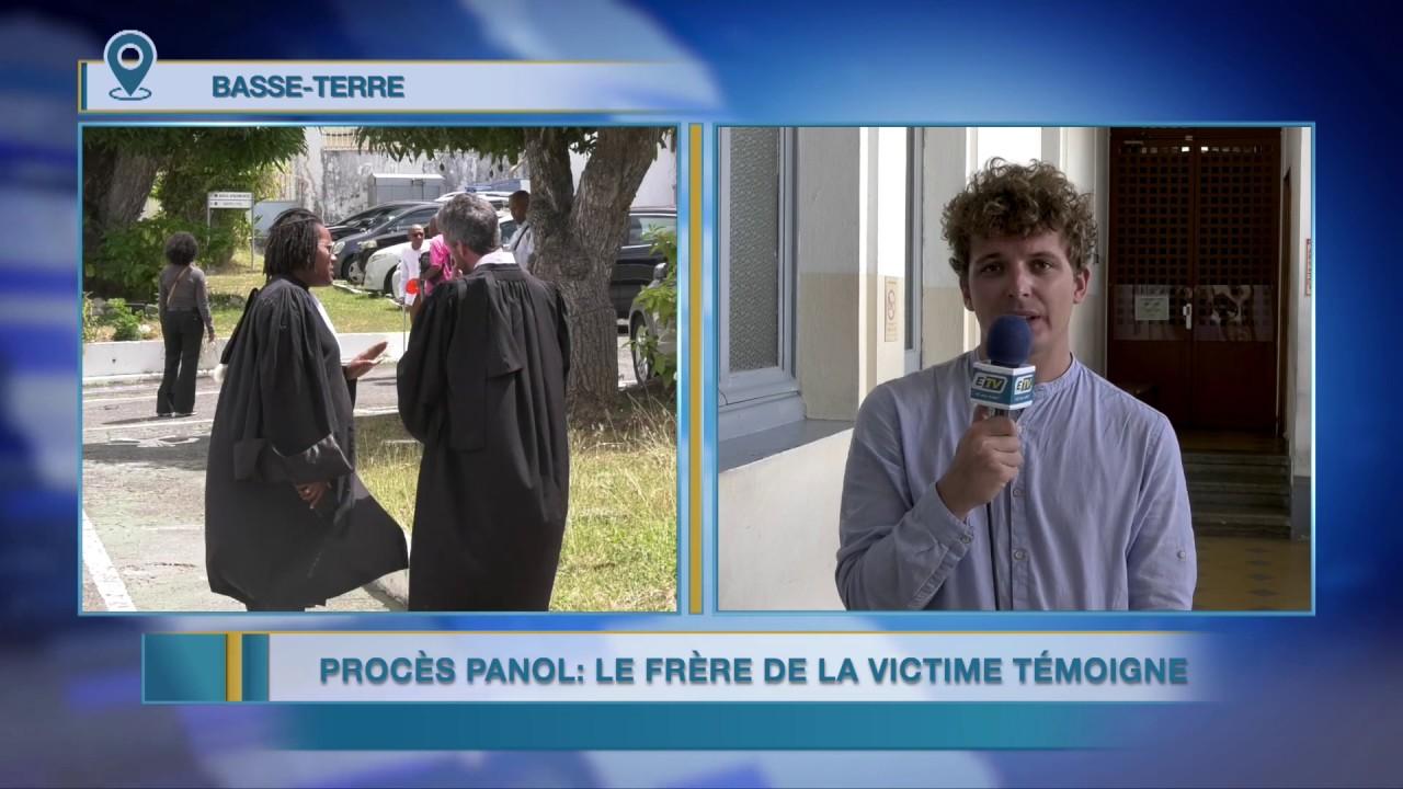 Procès Dominique Panol: Le frère de la victime témoigne...