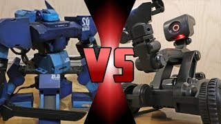 ROBOT DEATH BATTLE! - ROBOT DEATH BATTLE! - GANKER 2 VS MEBO 2.0 - (ROBOT BATTLEBOTS WARS!)