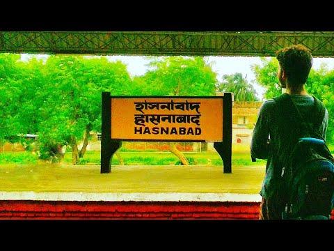 Barasat to Hasnabad Journey | Ichamoti Nadi | Vlog #6 |  Eastern Suburban Railway Section | 2018