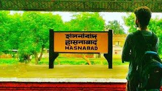 Barasat to Hasnabad Journey   Ichamoti Nadi   Vlog #6    Eastern Suburban Railway Section   2018