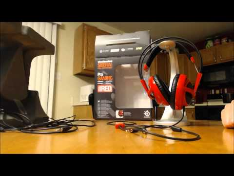 SteelSeries Siberia V2 Gaming Headset Sound Test And Quick Review