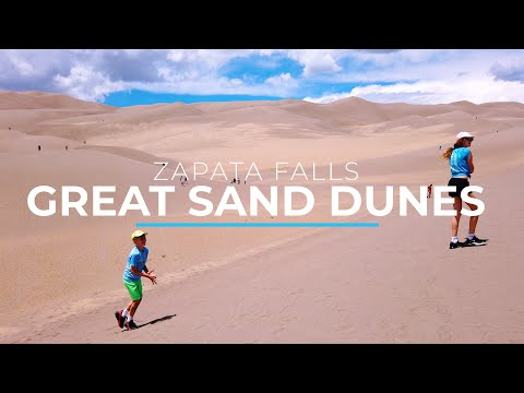 Great Sand Dunes National Park and Zapata Falls, Colorado | Opening Day after Shutdown