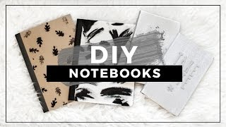 DIY Tumblr Notebooks for Back to School! Easy DIY School Supplies!