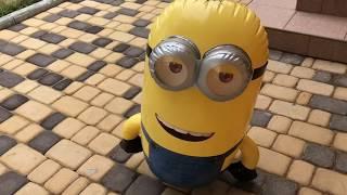 Розпакування надувний іграшки на р/у Bladez Minions Міньйон Кевін 61 см зі звуком