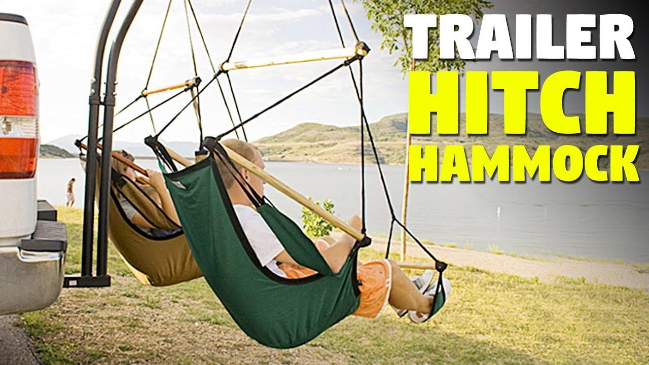 Trailer Hitch Hammock Hammaka Hammock Chair Set Youtube