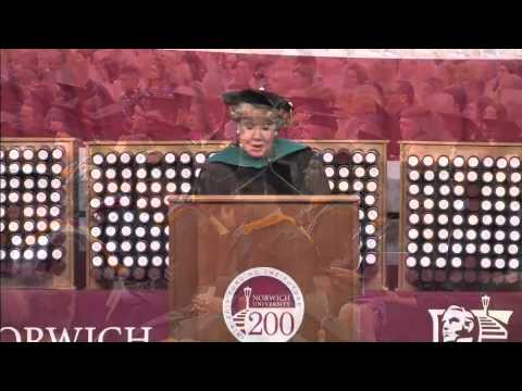 Senator Elizabeth Dole: 2015 Norwich University Commencement speaker