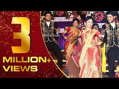 Celebrities dance at Kaala Sandy's wedding reception  Rio  RoboShankar