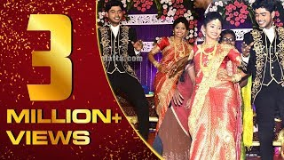 Celebrities dance at Sandy's wedding reception | Rio | RoboShankar
