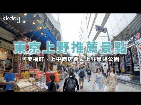 KKday日本超級攻略東京上野景點推薦,藝術人文之旅